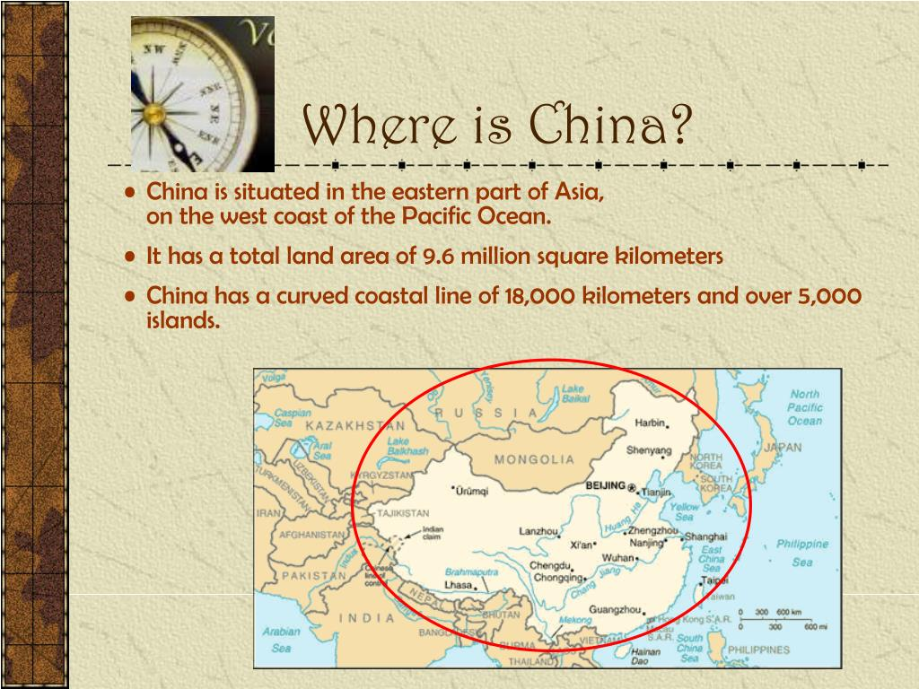 Where is China?