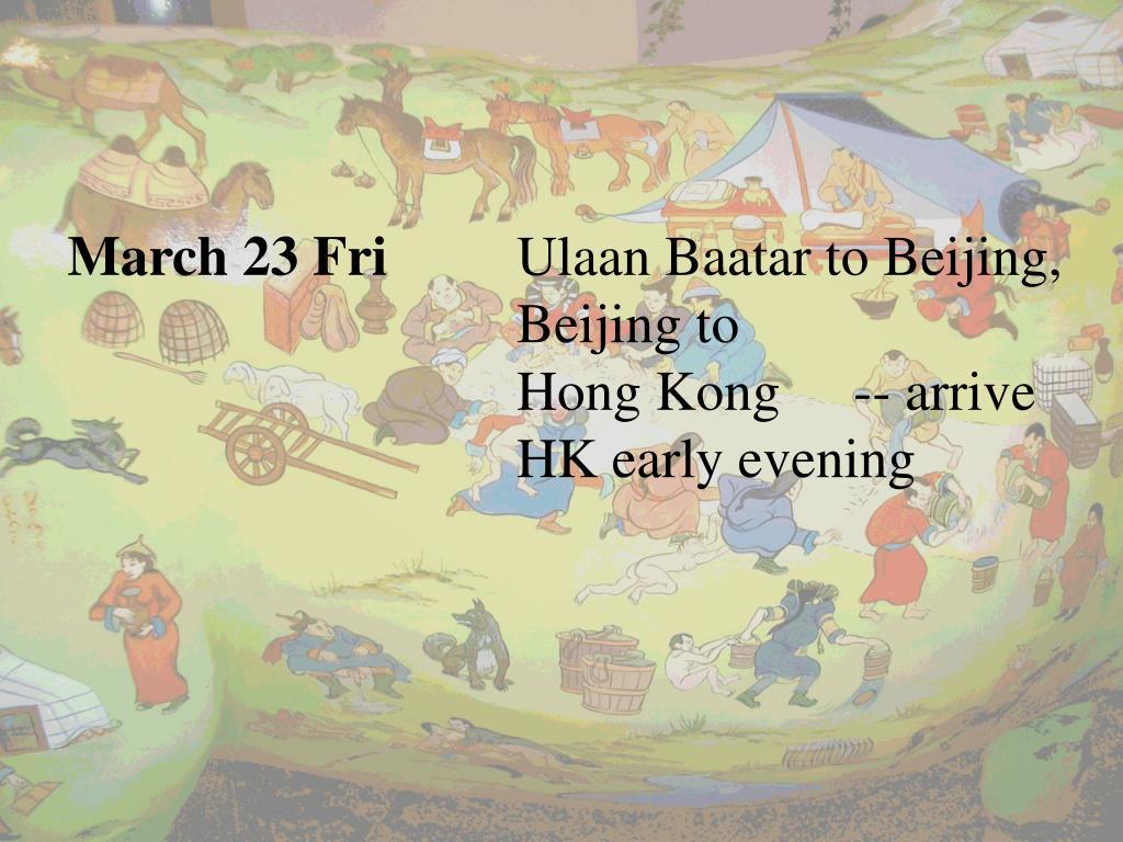 March 23 Fri