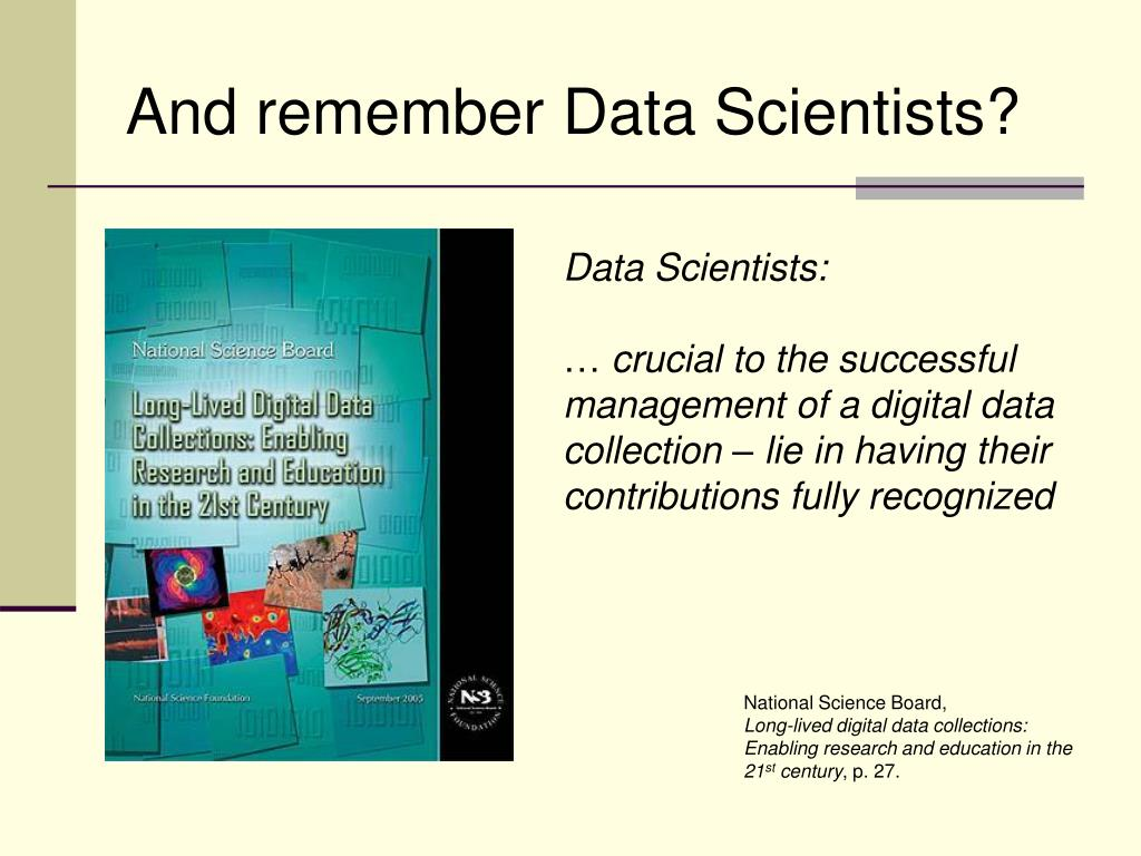 And remember Data Scientists?