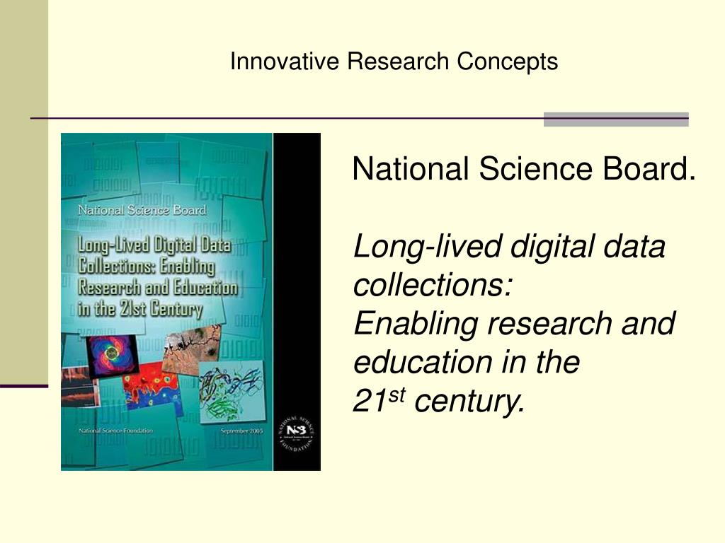 Innovative Research Concepts