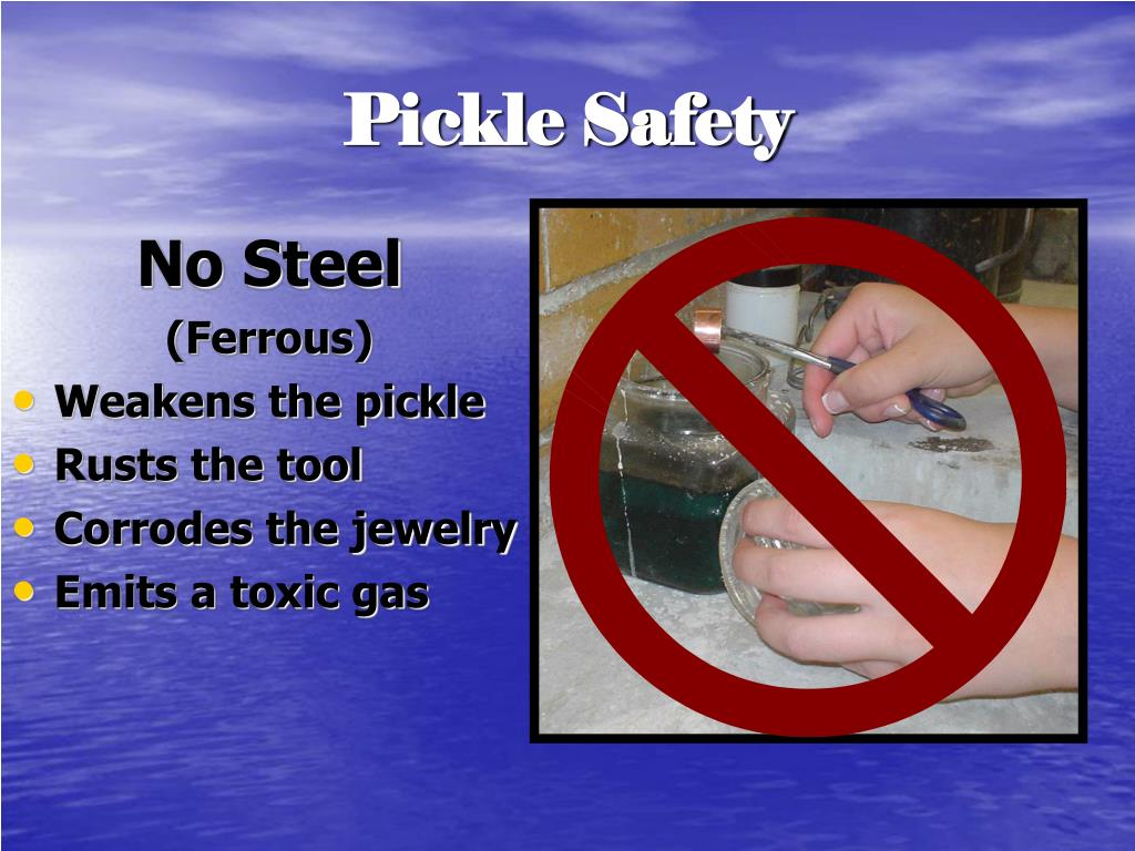 Pickle Safety