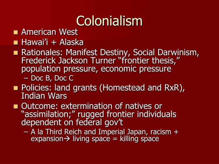 a comparison of the debates from 1840s and 1890s over american territorial expansionism Read this business research paper and over 88,000 other research documents webvan domestic expansion failure  are much higher in comparison with traditional.