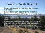 how non profits can help12