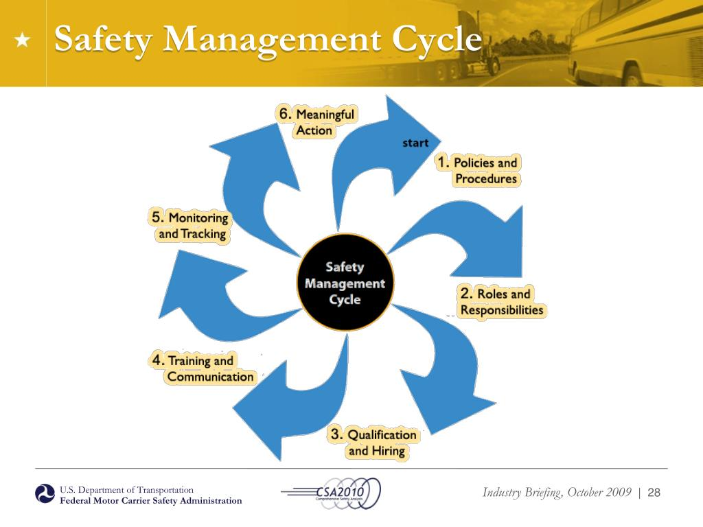 Safety Management Cycle