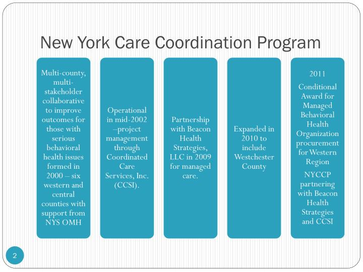 New york care coordination program