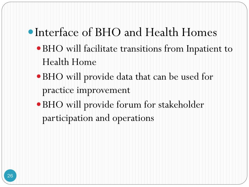 Interface of BHO and Health