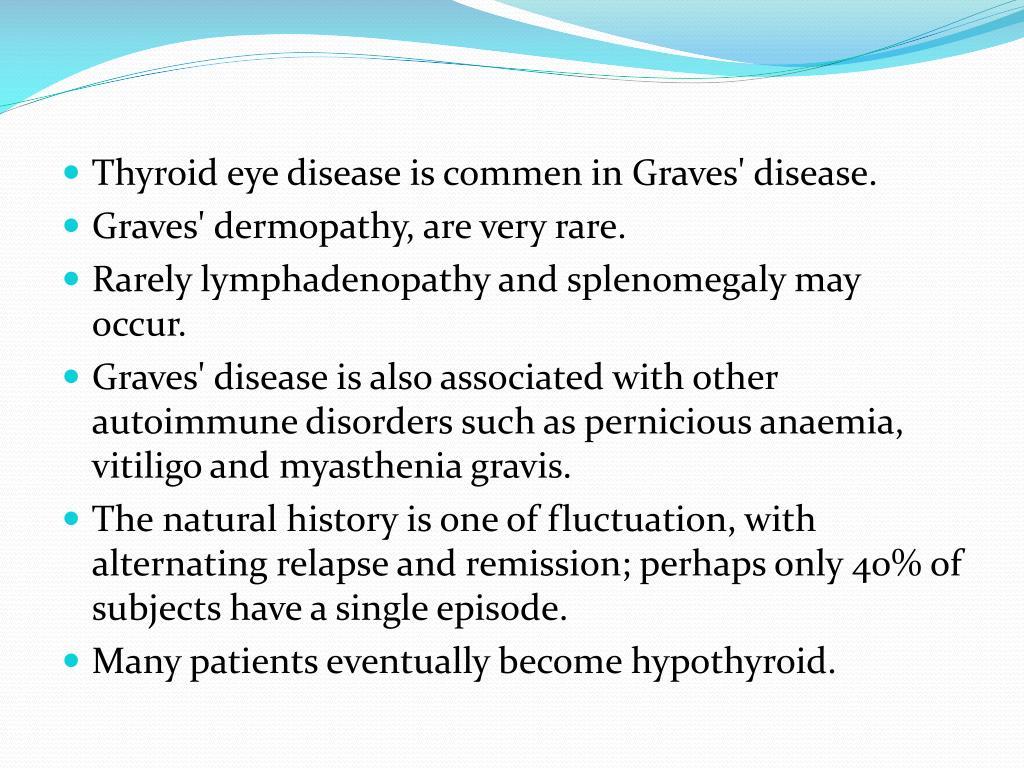 Thyroid eye disease is commen in Graves' disease.