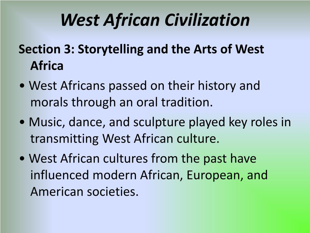 Article summary civilization the west