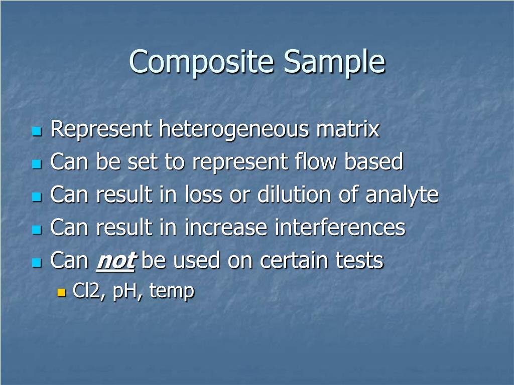 Composite Sample
