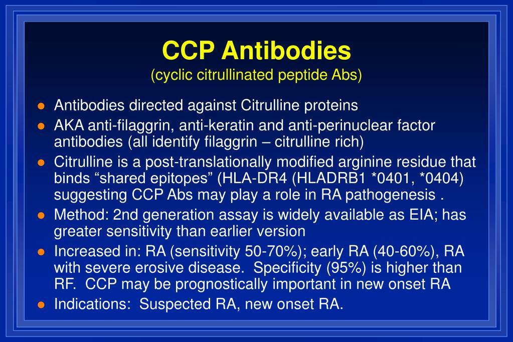 CCP Antibodies