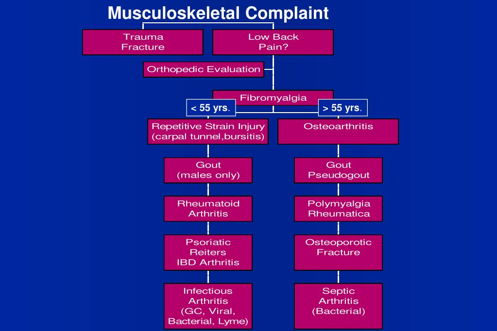 Musculoskeletal Complaint