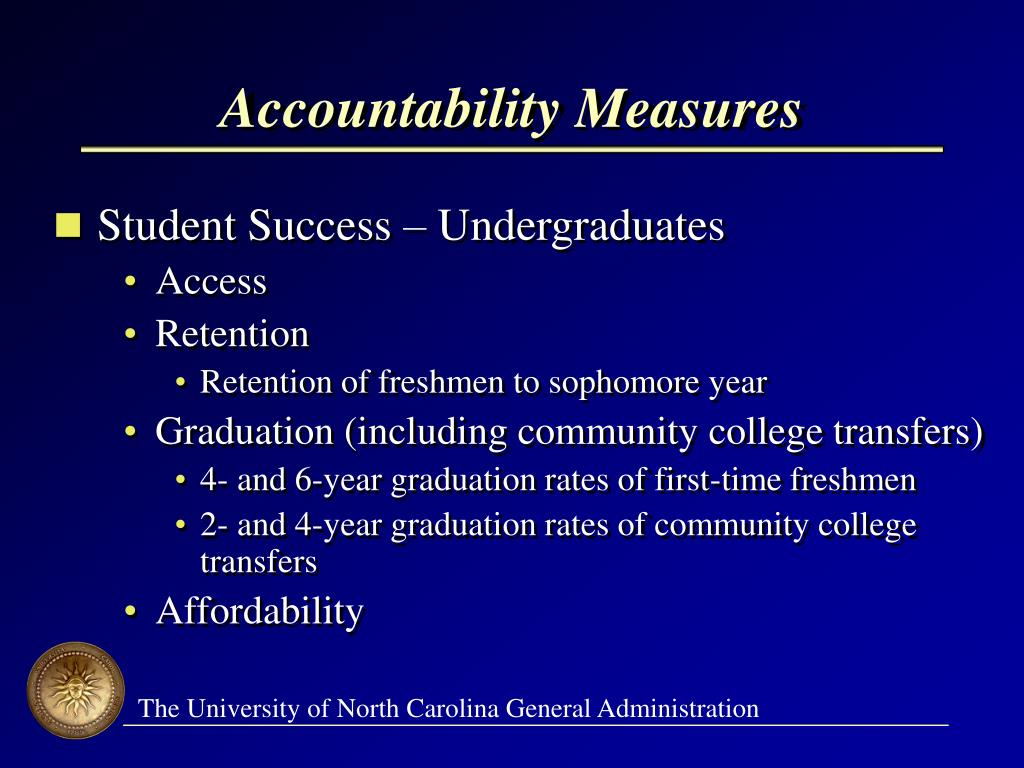 Accountability Measures