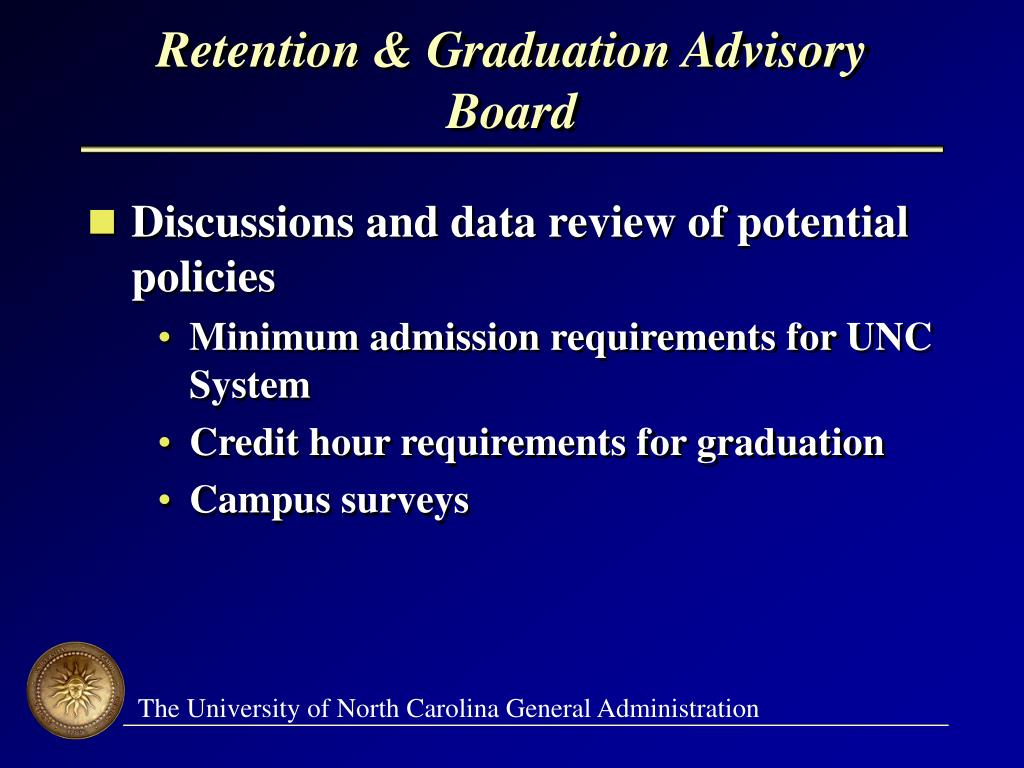 Retention & Graduation Advisory Board
