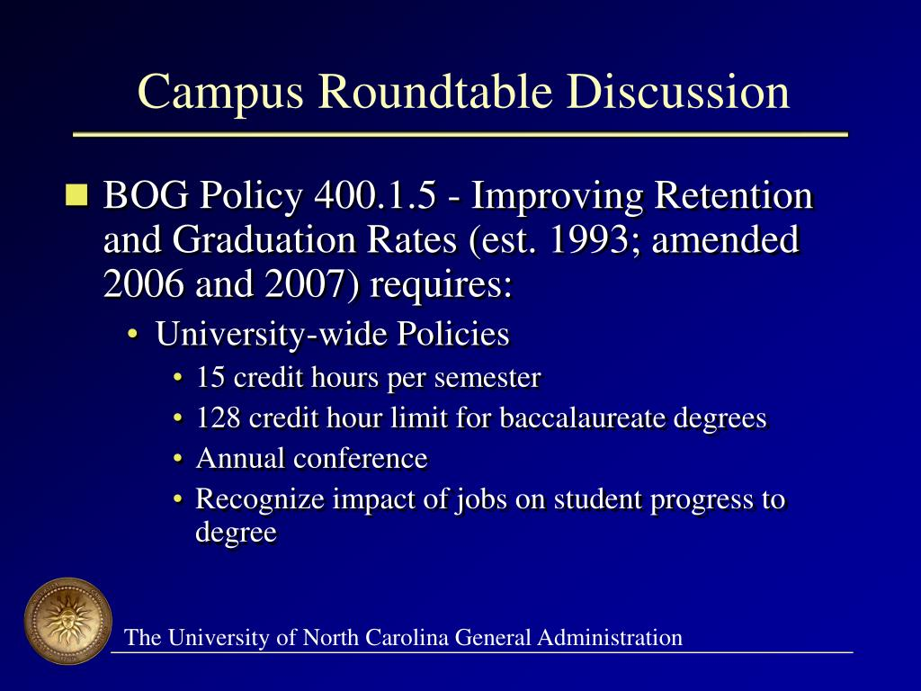 Campus Roundtable Discussion