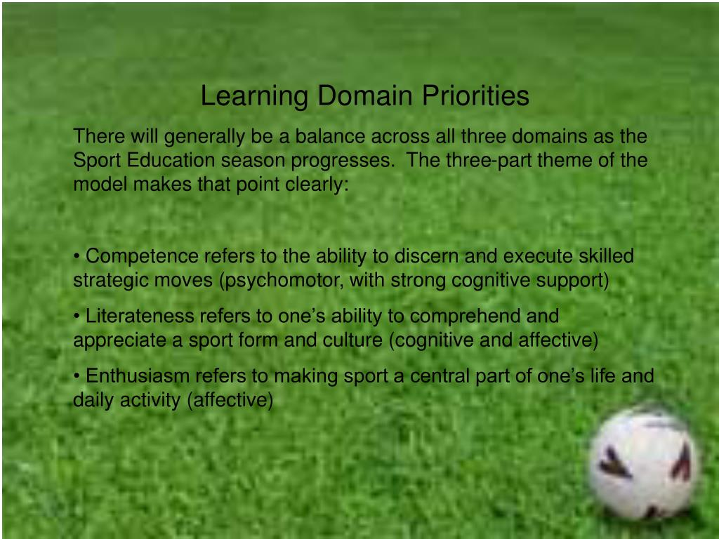 Learning Domain Priorities