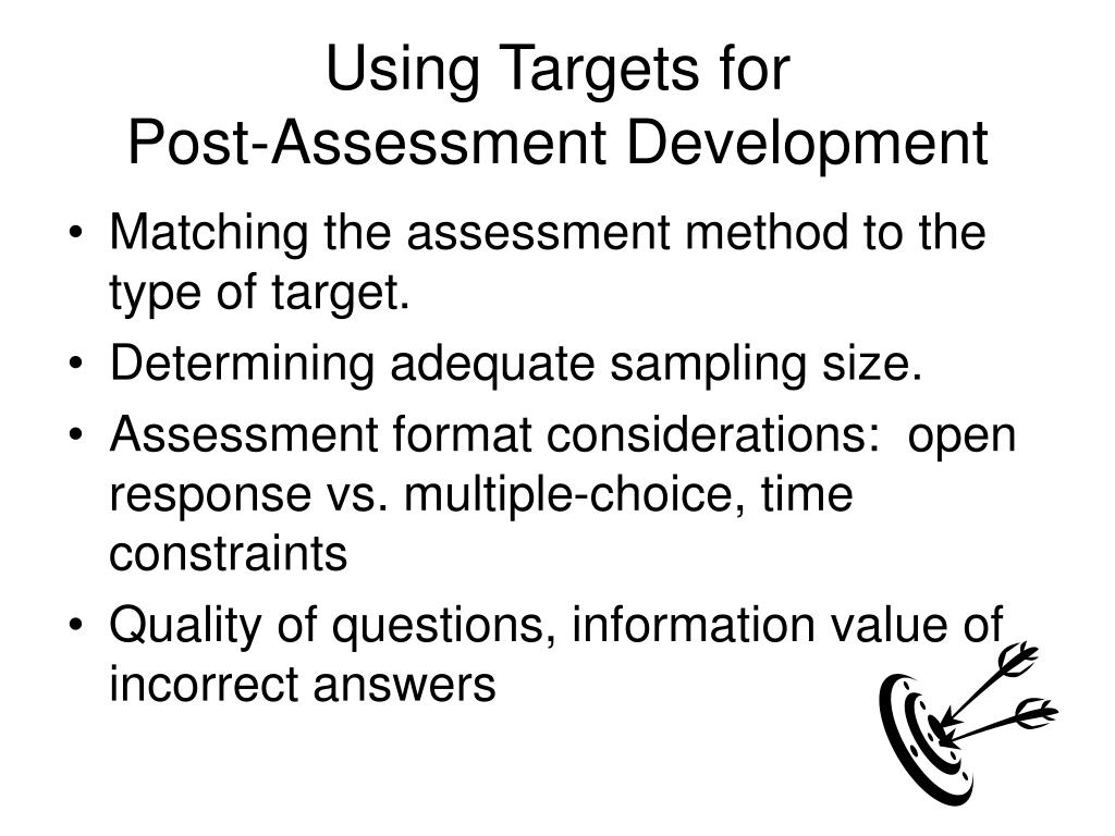 Using Targets for