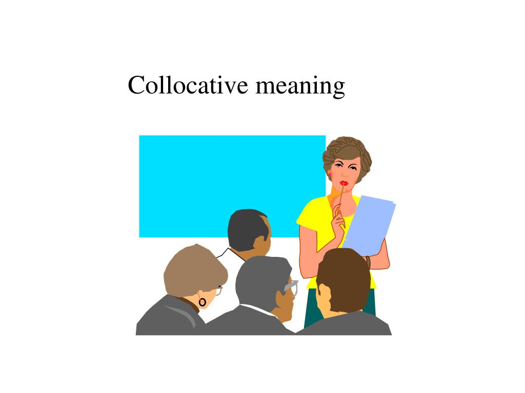 Collocative meaning