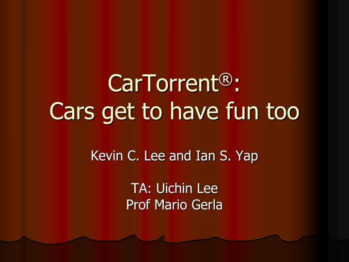Cartorrent cars get to have fun too l.jpg