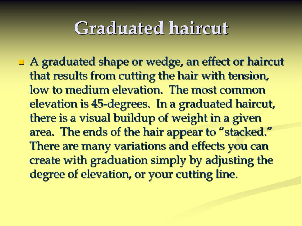 Ppt Graduated Haircut Powerpoint Presentation Id 357355