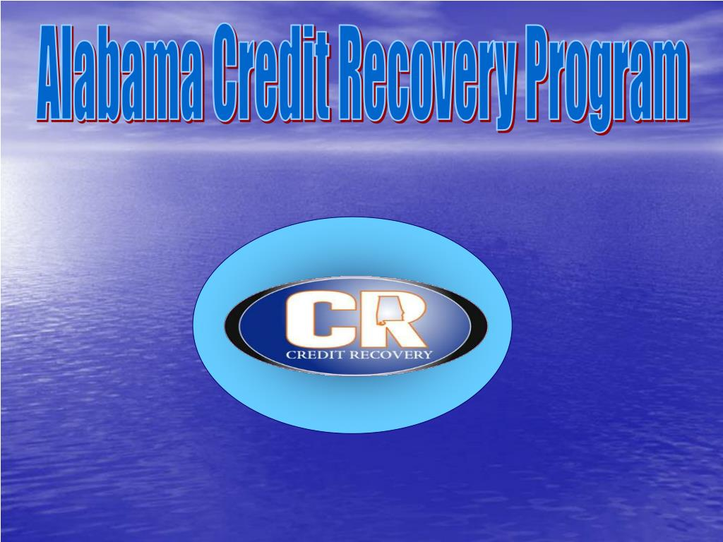 Alabama Credit Recovery Program