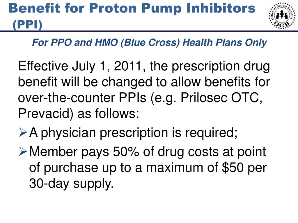 Benefit for Proton Pump Inhibitors
