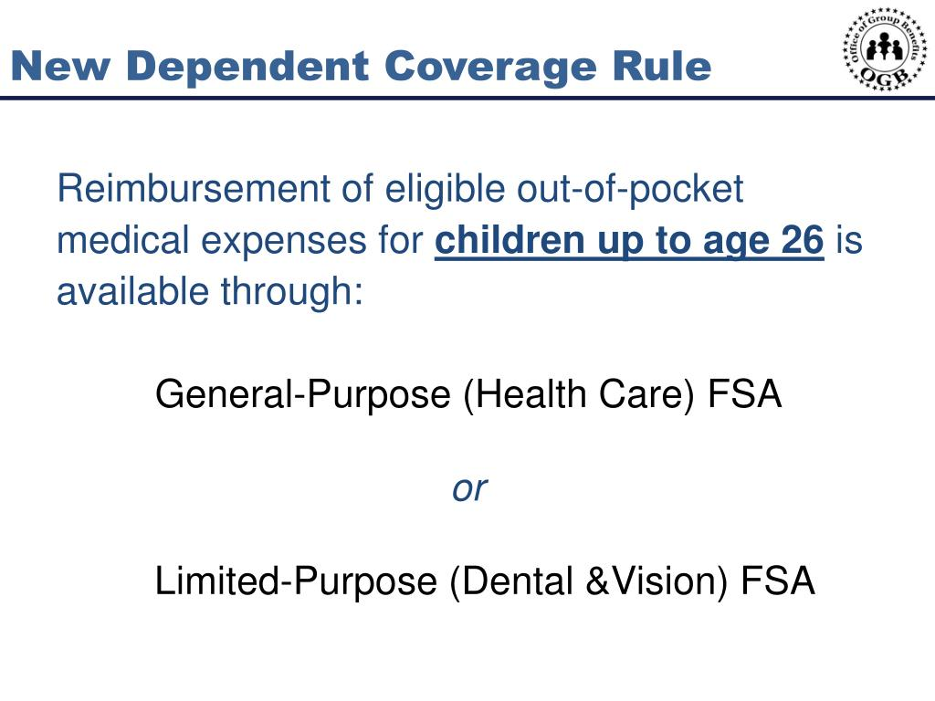 New Dependent Coverage Rule