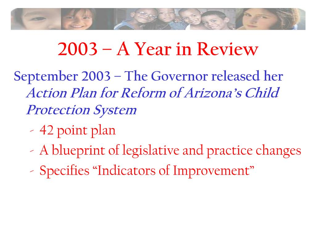 2003 – A Year in Review
