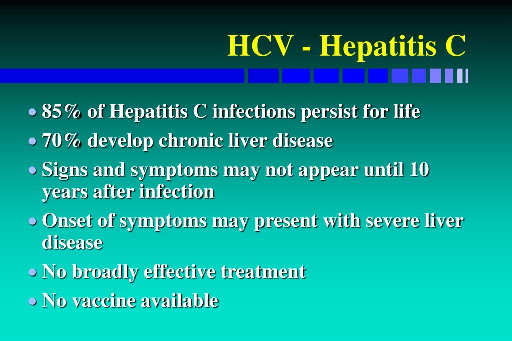 HCV - Hepatitis C