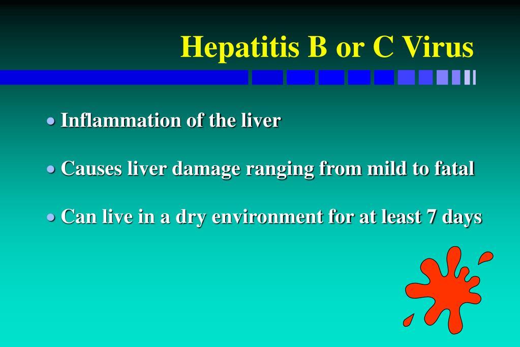 Hepatitis B or C Virus