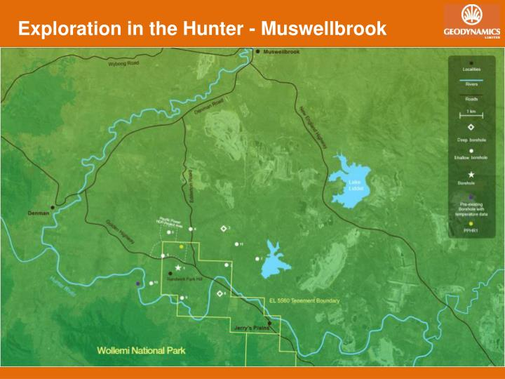 Exploration in the Hunter - Muswellbrook