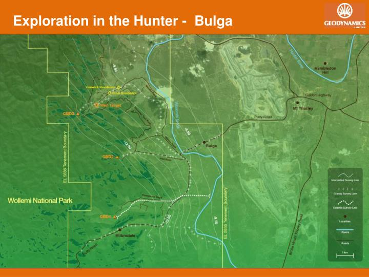 Exploration in the Hunter -  Bulga