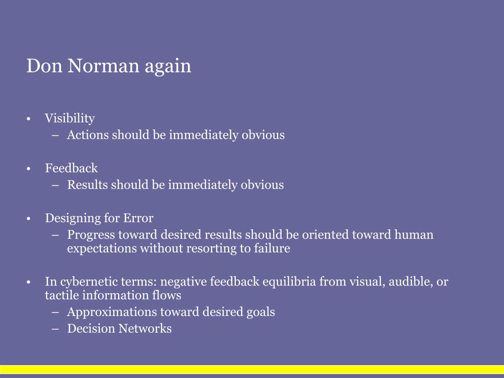 Don Norman again