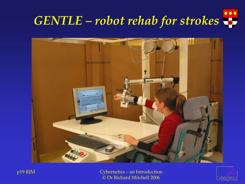 GENTLE – robot rehab for strokes
