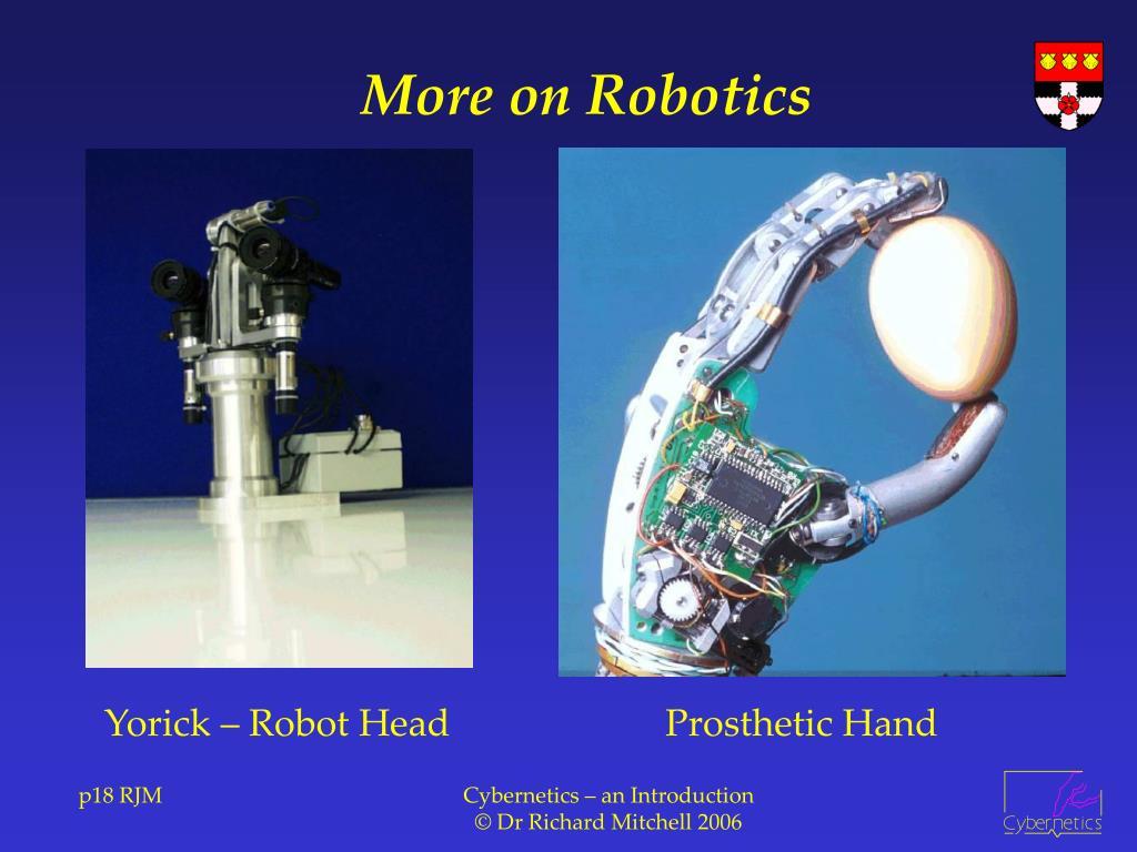 More on Robotics