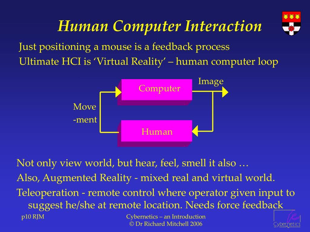 Human Computer Interaction