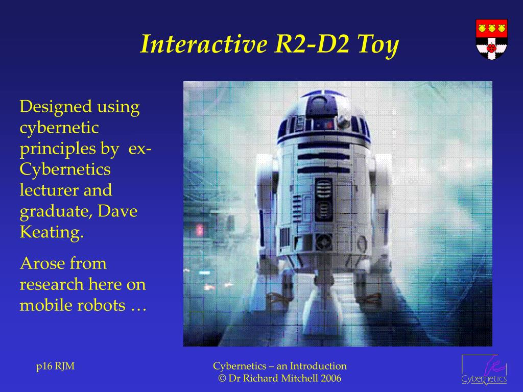 Interactive R2-D2 Toy