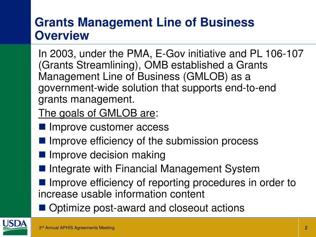 Technology Management Image: Lean Six Sigma Grants Process (LSGP) PowerPoint