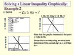 solving a linear inequality graphically example 2