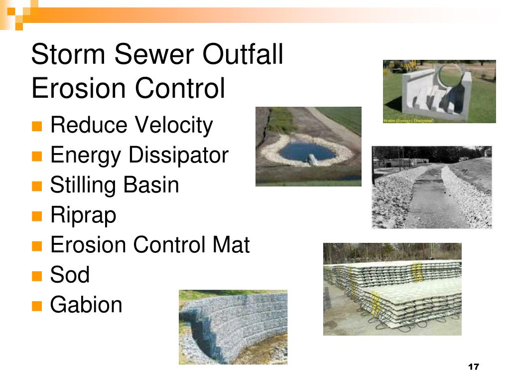 Storm Sewer Outfall
