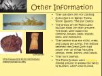 other information