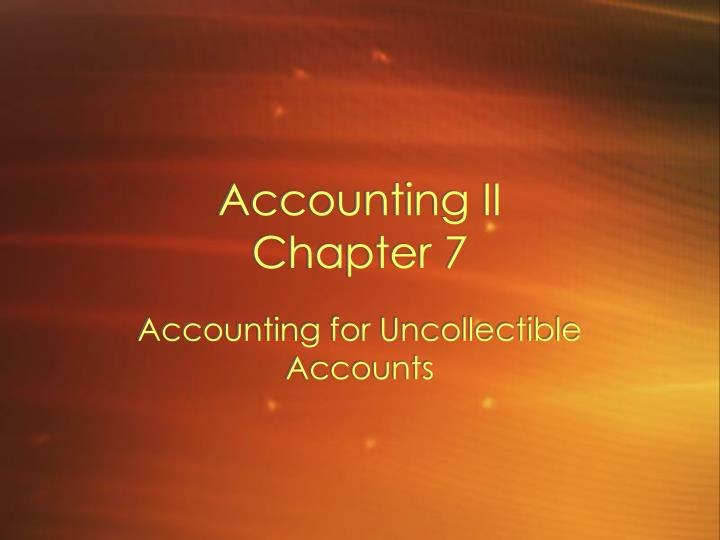 Accounting ii chapter 7 l.jpg