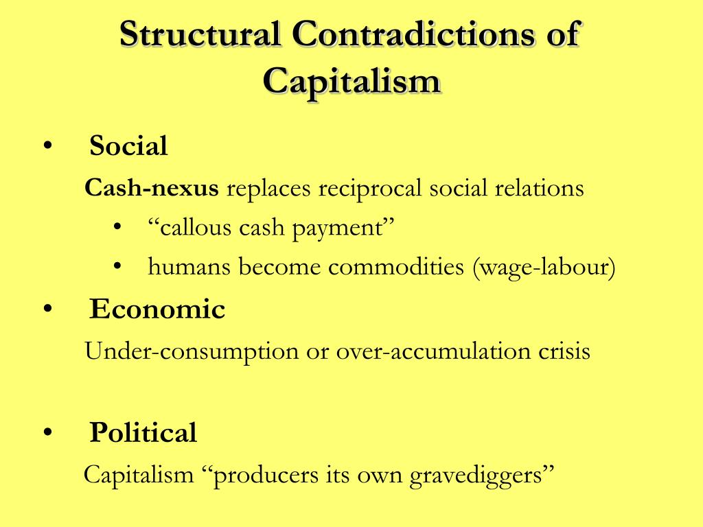 an analysis of marx concepts of economy and capitalism Marxian economics concerns itself variously with the analysis of crisis in capitalism, the role and distribution of the surplus product and surplus value in various types of economic systems, the nature and origin of economic value, the impact of class and class struggle on economic and political processes, and the process of economic evolution.