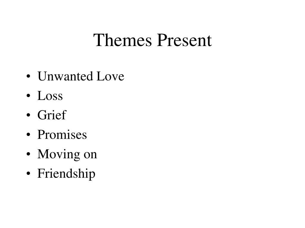Themes Present
