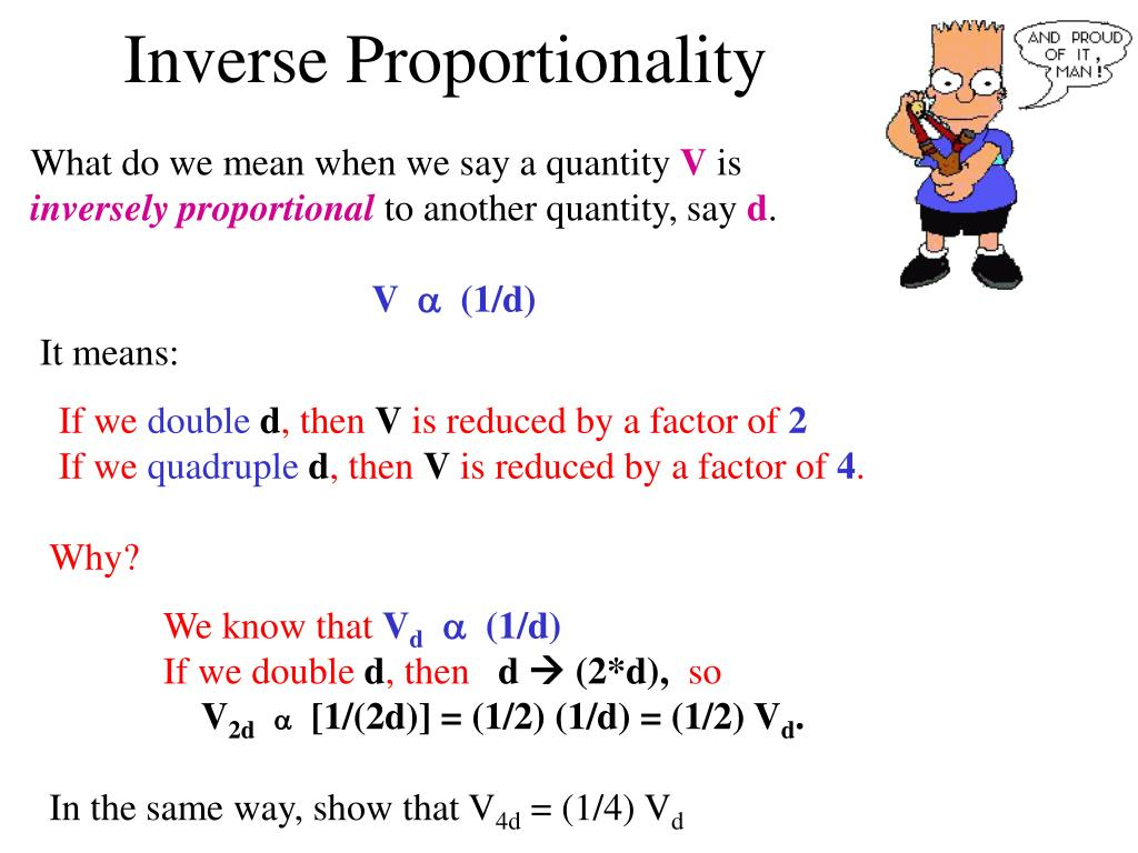 Inverse Proportionality