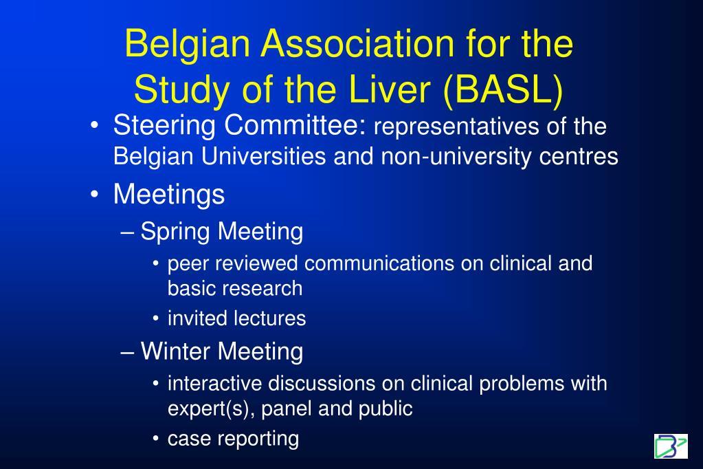 Belgian Association for the Study of the Liver (BASL)