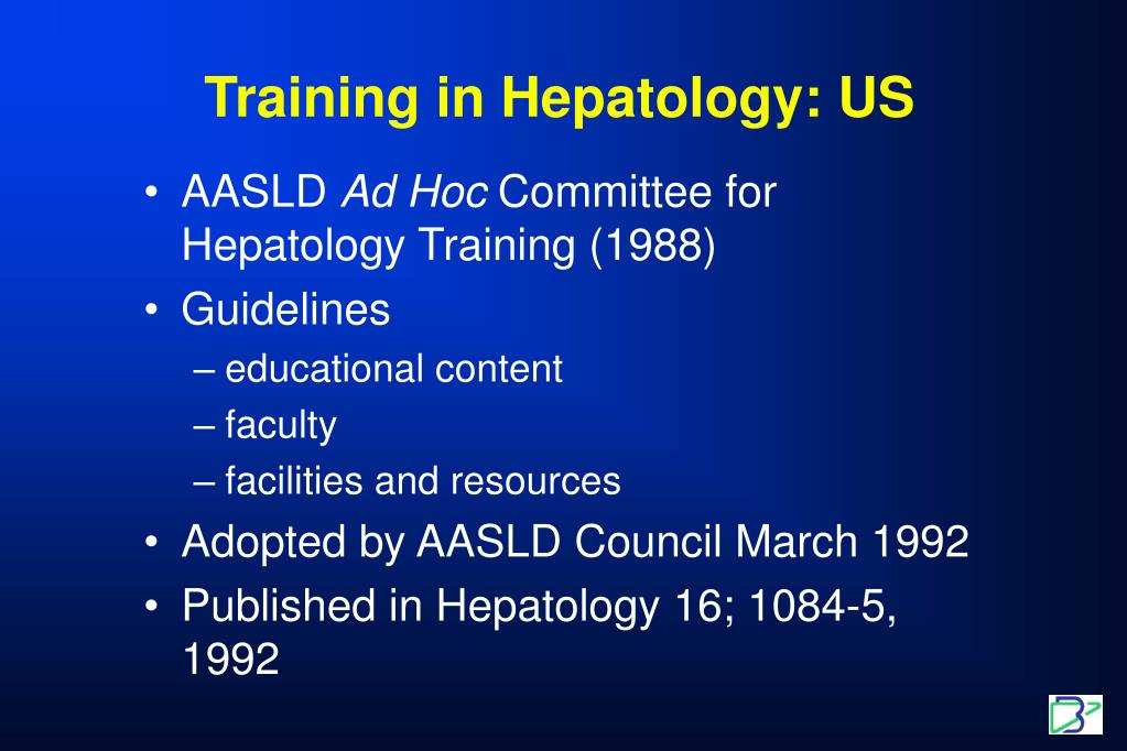 Training in Hepatology: US