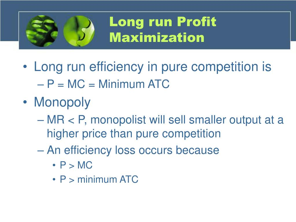 Long run Profit Maximization