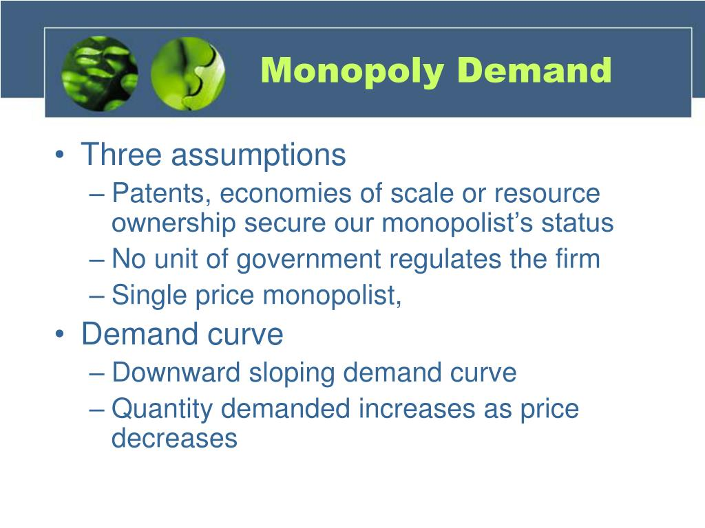 Monopoly Demand