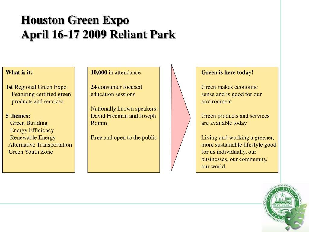 Houston Green Expo