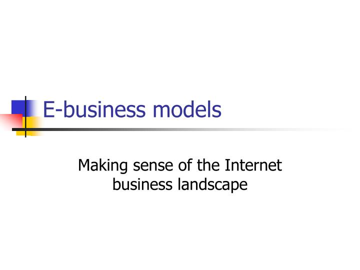 E business models l.jpg